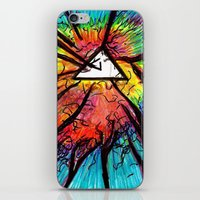 Floyd Forest iPhone & iPod Skin