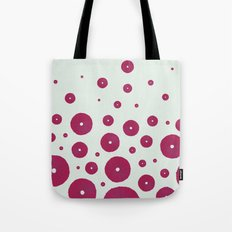 Sea's Design - Urchin Skeleton (Deep Pink) Tote Bag