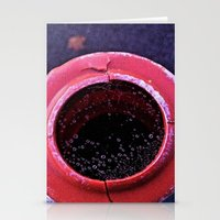 Web Droplets Stationery Cards