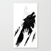 Wolves Of Paris Canvas Print