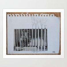 monkeybars Art Print