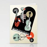 Jazz Combo Stationery Cards