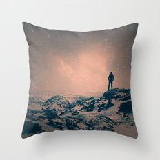 Lost The Moon While Coun… Throw Pillow