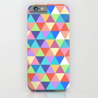 iPhone & iPod Case featuring Colorful Triangles by Corrie Jacobs