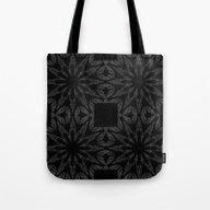 Slate Gray Colorburst Tote Bag