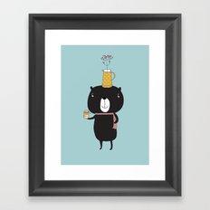 Honey Bear Framed Art Print