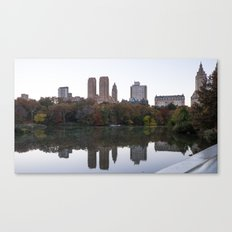 Central Park Fall Series 3 Canvas Print