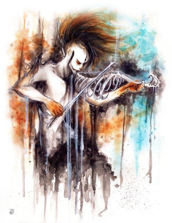 La Musica  Art Print