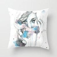 Scarf Throw Pillow