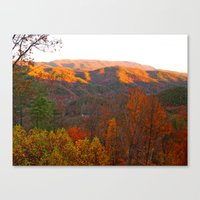 Autumn in Tennessee Canvas Print