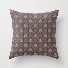 MOGPATTERN Throw Pillow