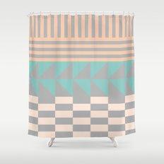 Opostos Shower Curtain