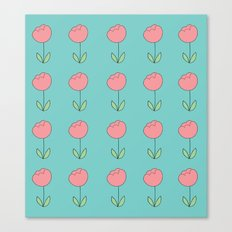 Color Me Pink with Spring Canvas Print
