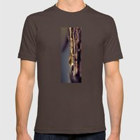 Pine Sap Mens Fitted Tee Brown SMALL