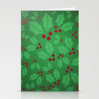 Holly Jolly Christmas Stationery Cards