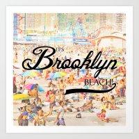 It's Brooklyn Beach! II Art Print