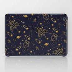Golden Celestial Bugs  iPad Case