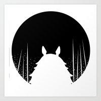 Noche  Art Print