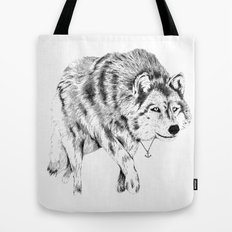 Mister Wolf Tote Bag