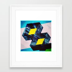Industrial Symmetry Framed Art Print