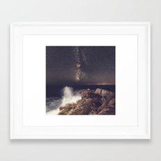 Wave of Night Framed Art Print