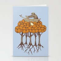 Sailing The High Trees Stationery Cards