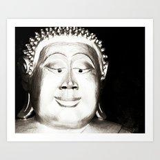 Esotropic Buddha  Art Print