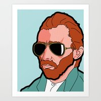 Pop Icon - Vince V.G. Art Print