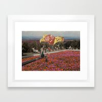 rose all day Framed Art Print