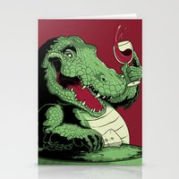 Party Croc Stationery Cards