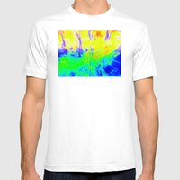 The Hippy Shake Mens Fitted Tee White SMALL