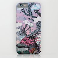 Journeying Spirit (deer) sunset iPhone 6 Slim Case