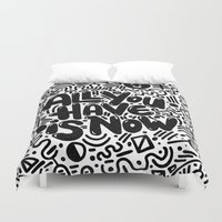 ALL YOU HAVE IS NOW Duvet Cover