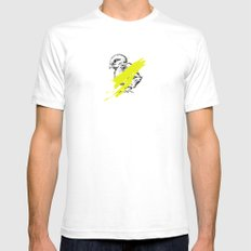untouchable Mens Fitted Tee White SMALL