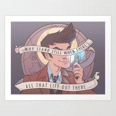 All that Life Art Print