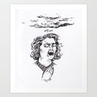 Laura's dead Art Print