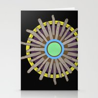 Radial Blame I Stationery Cards