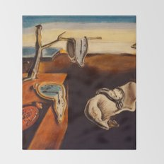 Salvador Dali - The Persistence of Memory Throw Blanket