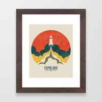 Come See The Universe Framed Art Print
