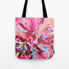 Red Arrangement Tote Bag