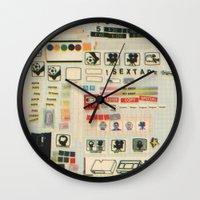 sextape Wall Clock