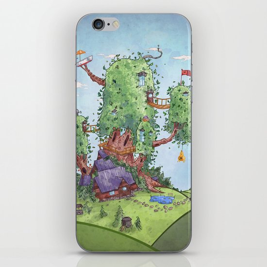 Ode to Finn and Jake iPhone & iPod Skin