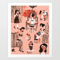 Budoir Art Print