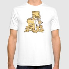 The Original Copycat White SMALL Mens Fitted Tee