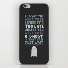 Motivational Speaker iPhone & iPod Skin