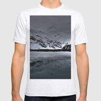 Alaska Mens Fitted Tee Ash Grey SMALL