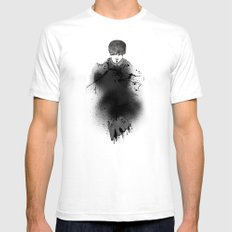 Style outside, man inside White Mens Fitted Tee SMALL