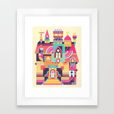 Structura 6 Framed Art Print