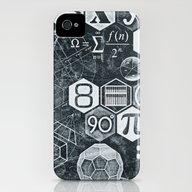 Math Class iPhone (4, 4s) Slim Case
