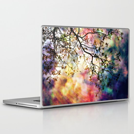 the Tree of Many Colors Laptop & iPad Skin